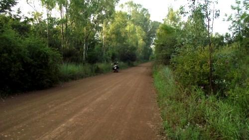 Motorbike routes near Johannesburg