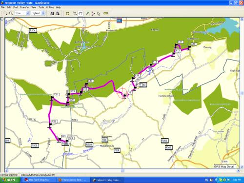 gravel motorbike route johannesburg