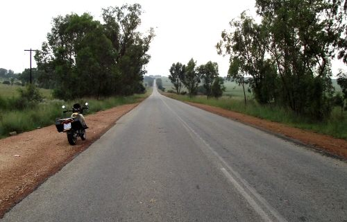 motorcycle route main reef road Gauteng