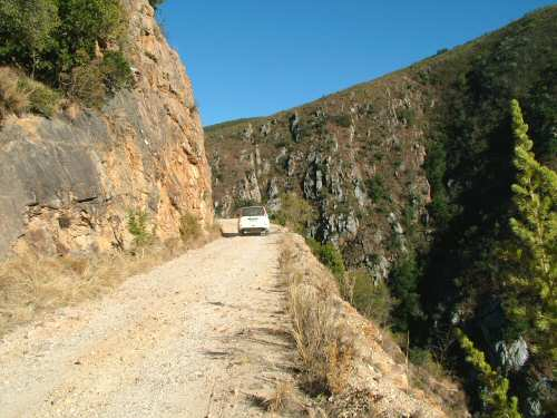 Baviaanskloof road South Africa
